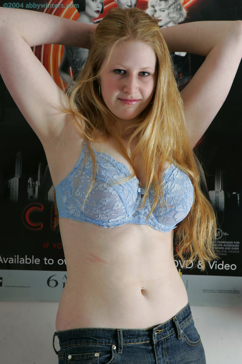 Chloe B Natural And Shaved For Abby Winters