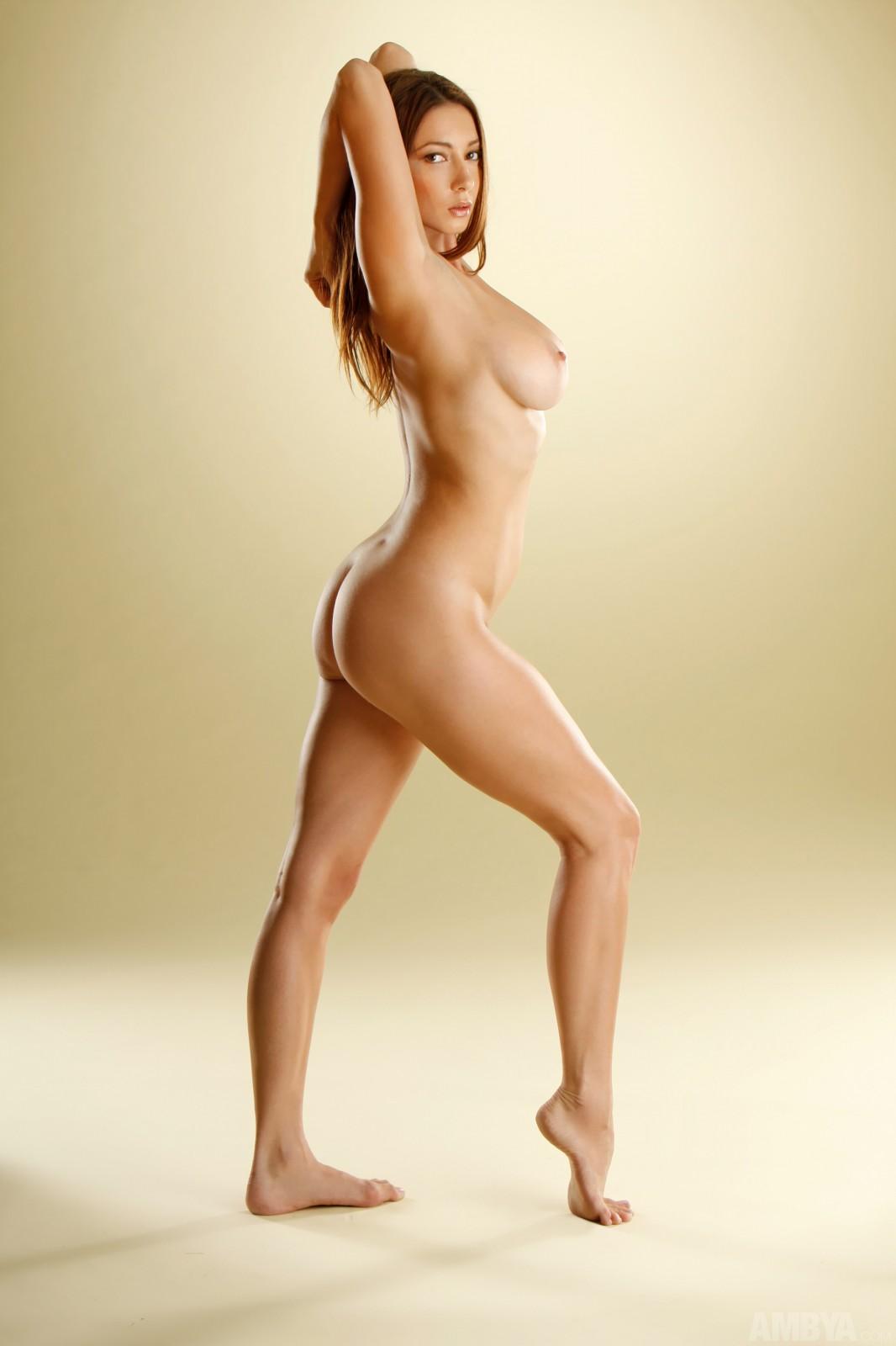 Beautiful nude female lovemaking
