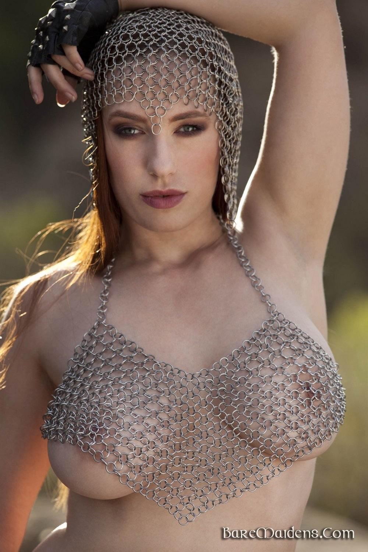 Titania of Rafeynor Chain Mail for Bare Maidens - Curvy Erotic