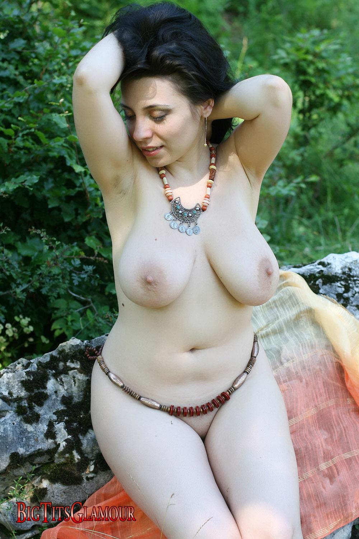 Big tit glamour models