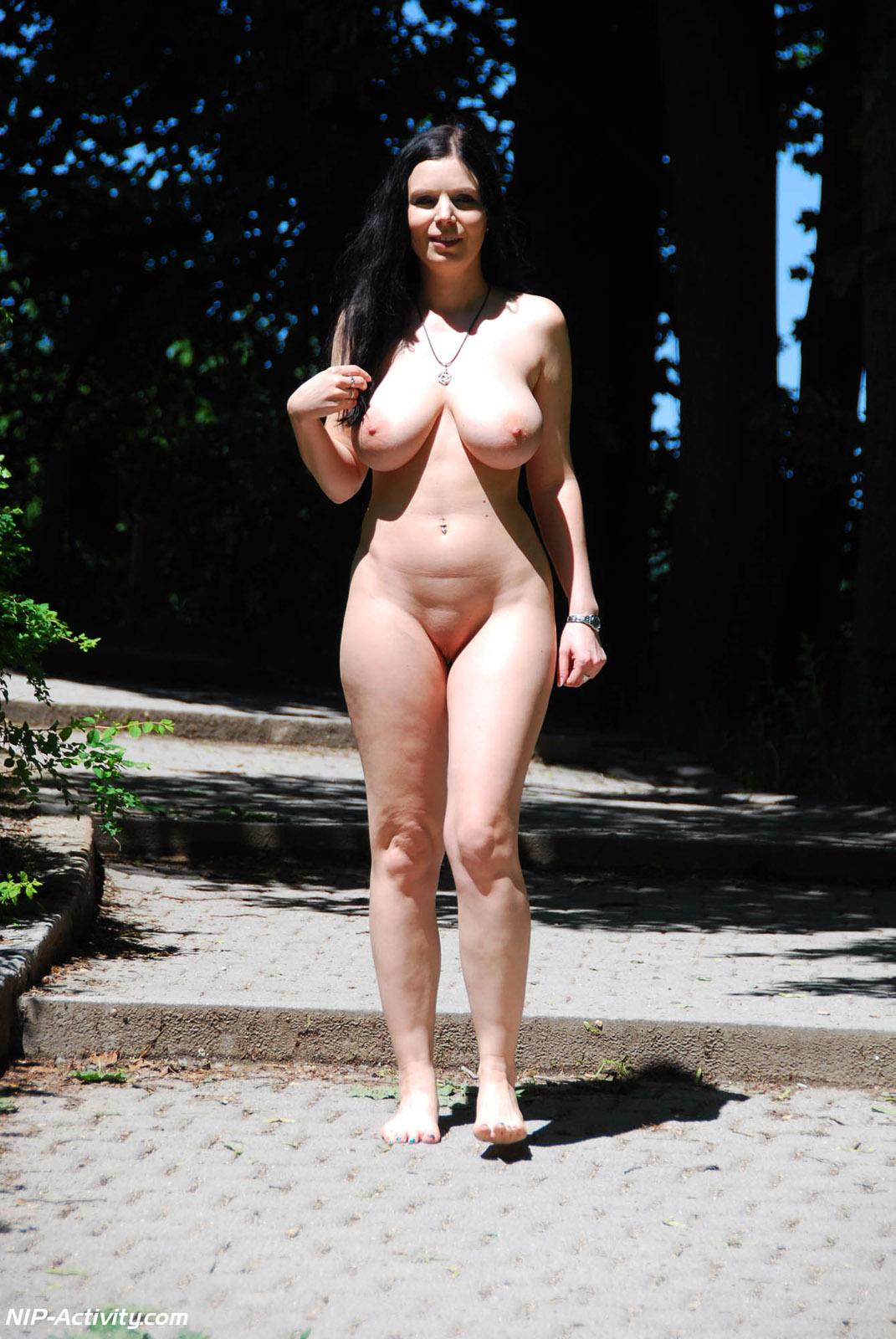 Nip activity in nude public sorry