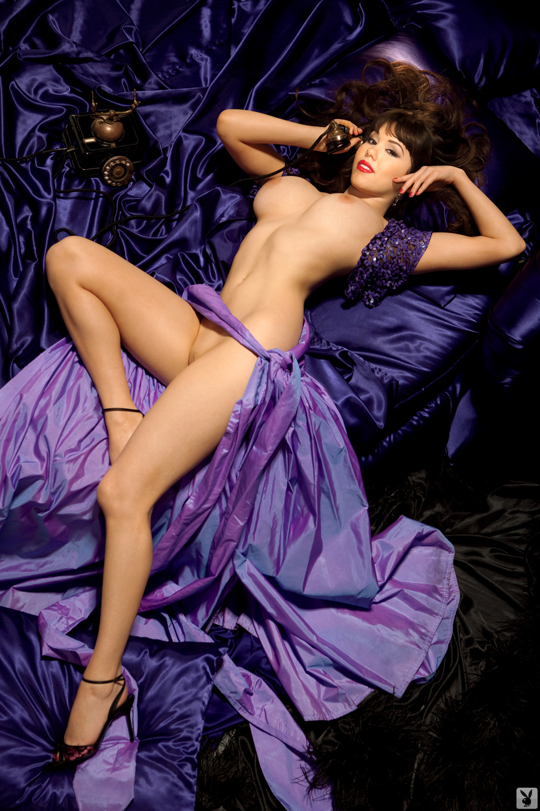 Claire sinclair playboy playmate of year of 2011 7
