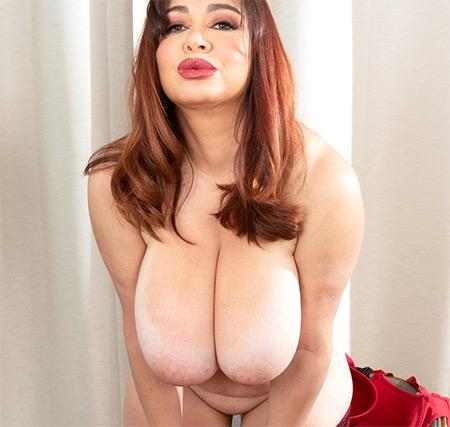 Scarlet Red Nude Model