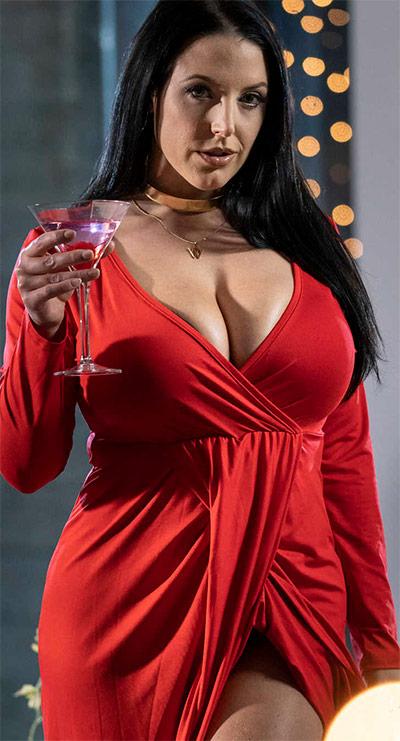 Angela White Cherry Kiss Babes