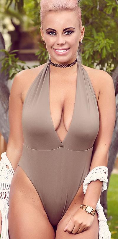 Blaise Boal Silver Skin Tight Glamour