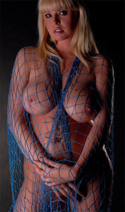 Candy Fishnet Dress for Silent Views