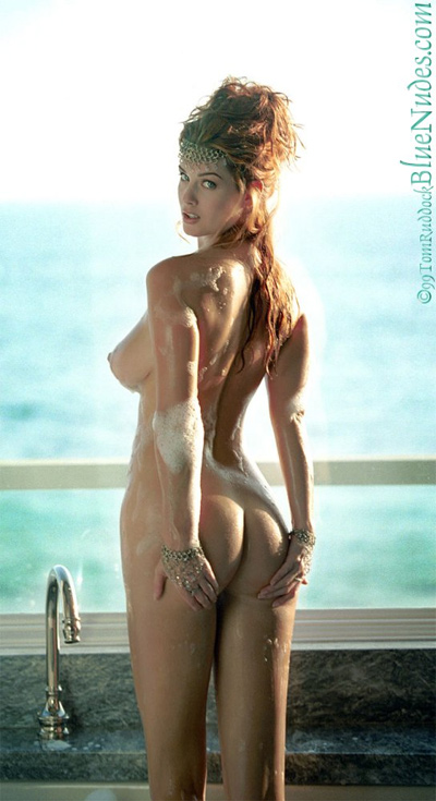 Carrie Stevens Blue Nudes