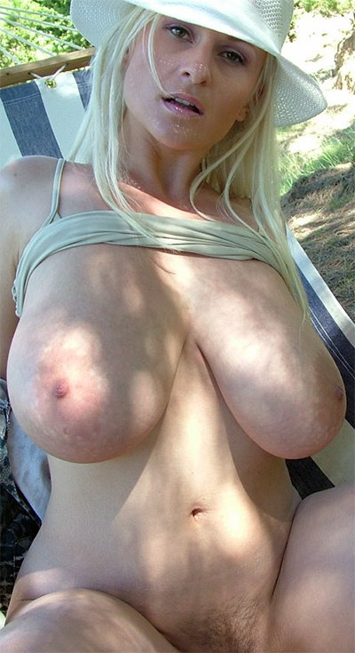Busty Cassandra Nude Hammock Adventures
