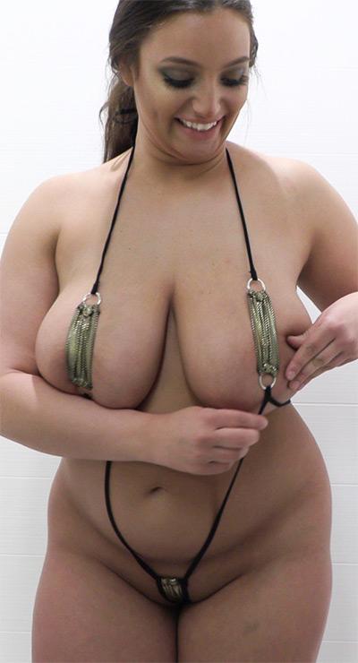 Chelsea James Oiled Slingshot