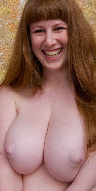 Submissive naked girl pet