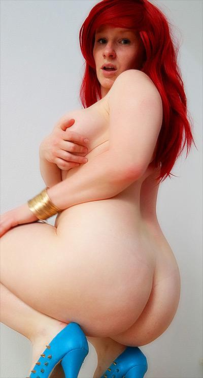 Devote Schlampe Curvy Redhead My Dirty Hobby