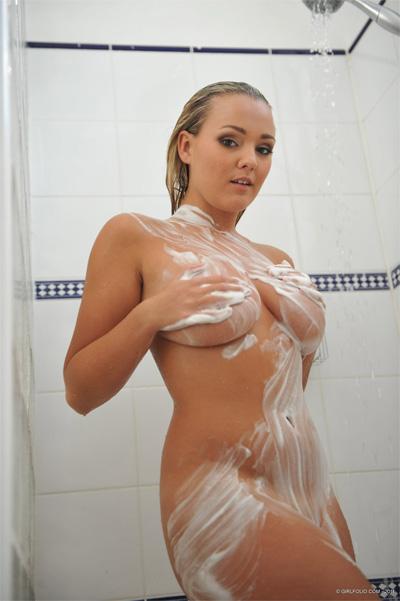 Jodie Gasson Sensual Shower Girlfolio