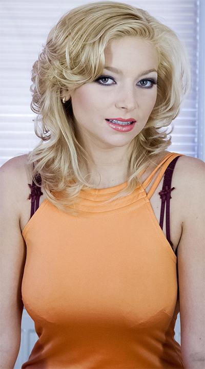 Karolina Orange Dress Nudes for Morey Studios