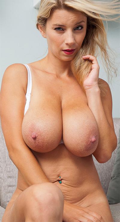 Katerina Hartlova Lace Lingerie Striptease