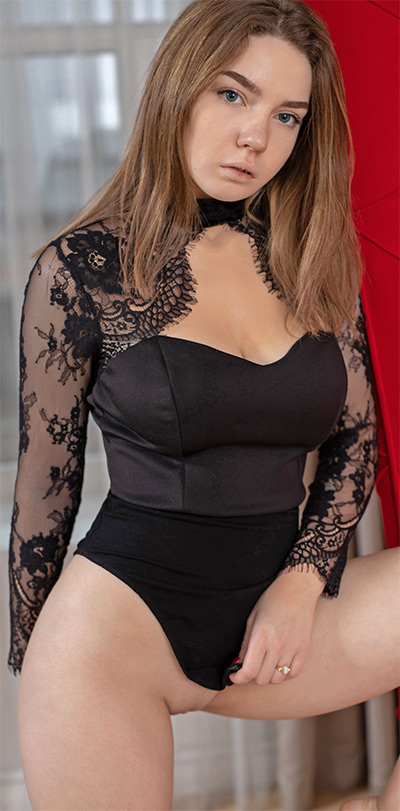 Kiere Black Bodysuit Met Art