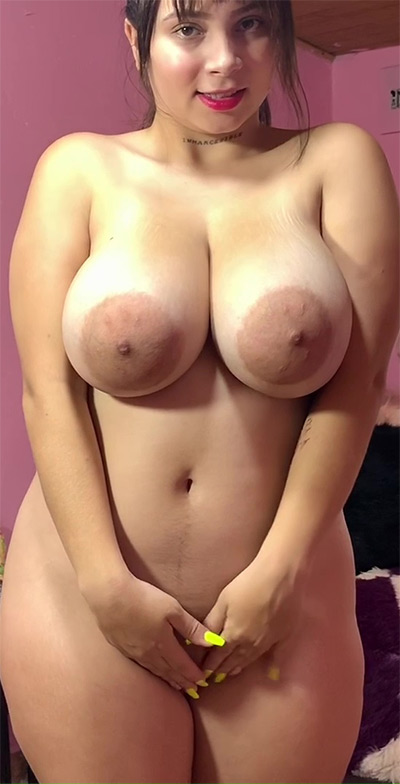 Kim Velez Oiled Curves Yes Boobs