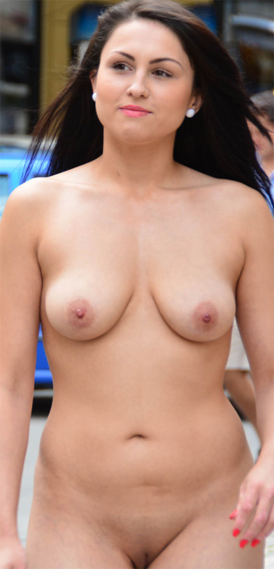 Kirshley Nude In Public NIP Activity
