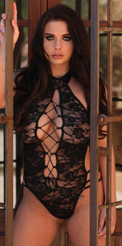 Kym Graham Black Lace This Is Glamour