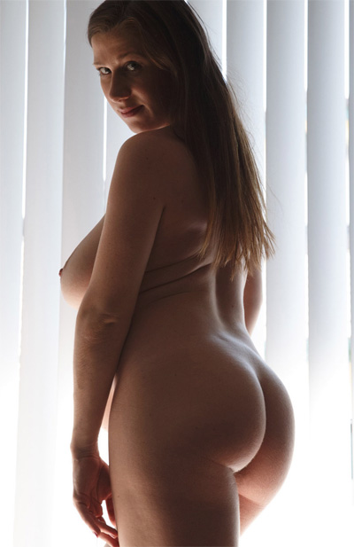 Lana Zuyeva Pregnant Curves for Zishy