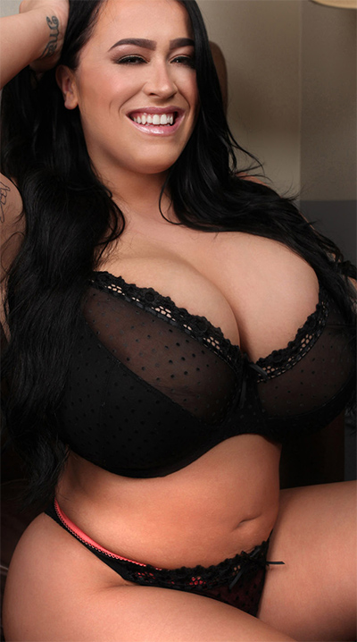 Leanne Crow Smokey Leather Curves