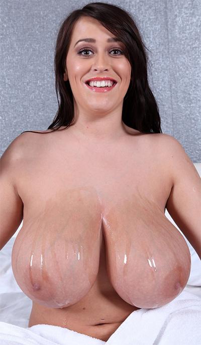 Leanne Crow Oiled Body for XX-Cel