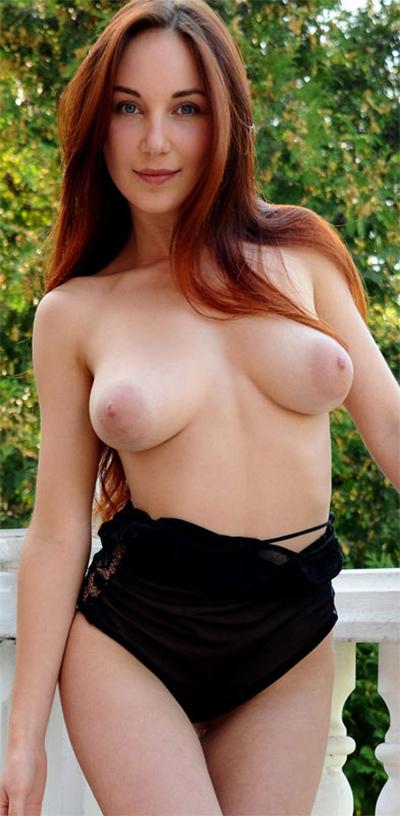 Ledona Redhead Beauty for Met Art