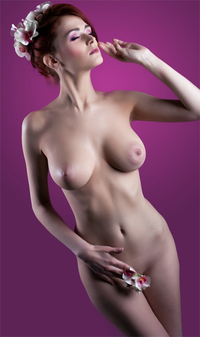 Lera Musikhina Studio Shots for Nu Erotica