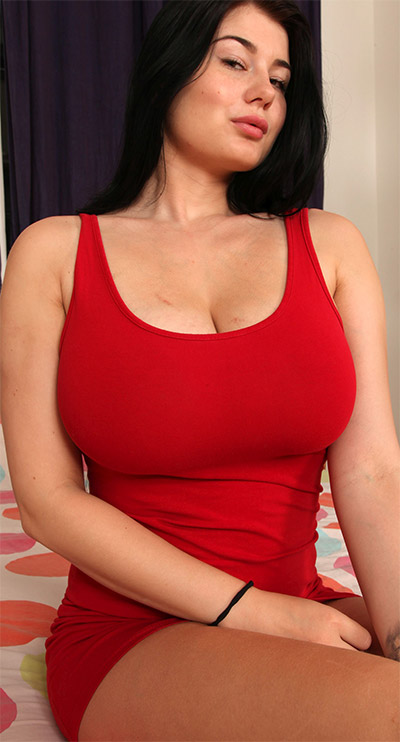 Lucy Li Sexy Red Dress XX-Cel