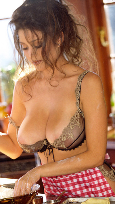 Miriam Gonzalez Miss March 2001 for Playboy