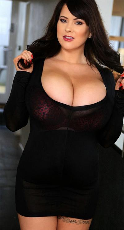 Rachell Aldana Black Dress Seduction