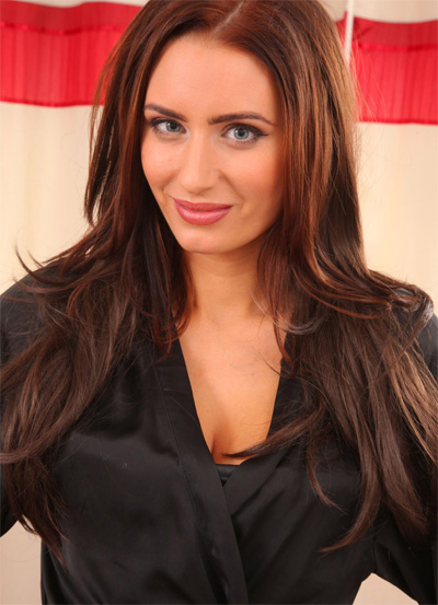 Sammy Braddy Black Silk Robe for Only Tease