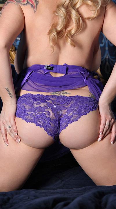 September Carrino Lavender Curves Pinupgiles