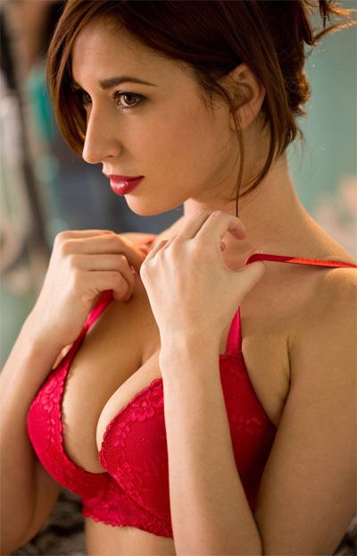 Shay Laren Red Lingerie for Digital Desire