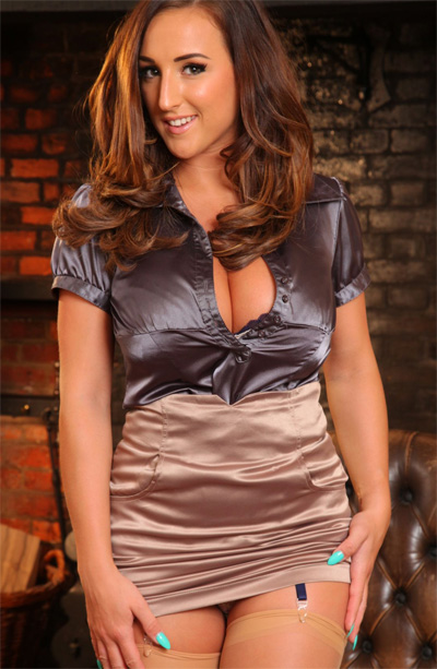 Stacey Poole Silky Satin for Only Tease