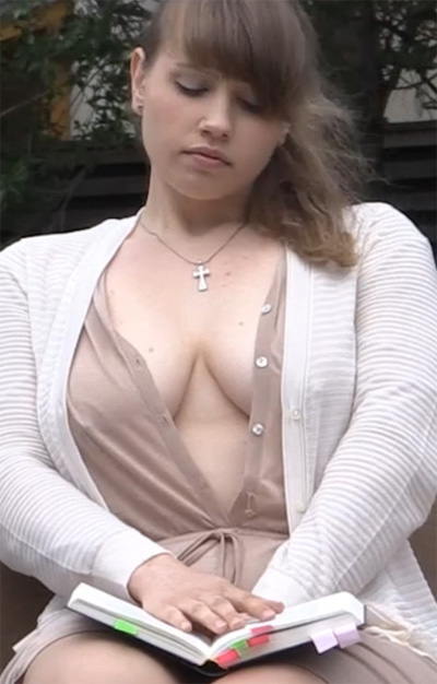 Summa Cum Laude Sexy College Girl for Frivolous Dress Order