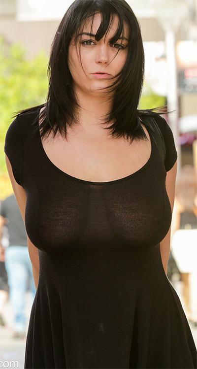 Taylor Sheer Dress Curves for FTV Milfs