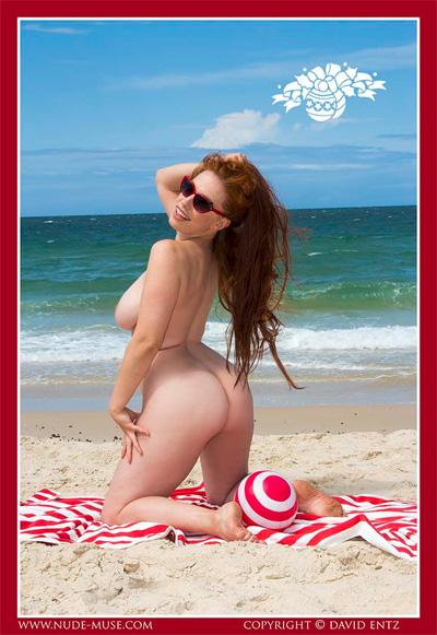 Titania Beach View Nude Muse