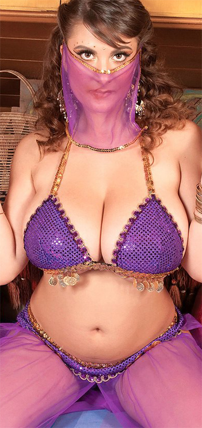 Valory Irene Seductive Belly Dancer