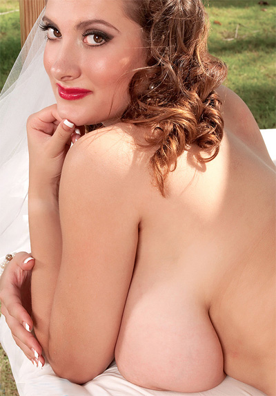 Valory Irene White Wedding for Scoreland