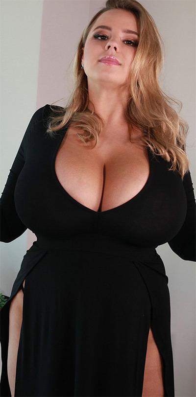 Vivian Blush Black Dress No Bra