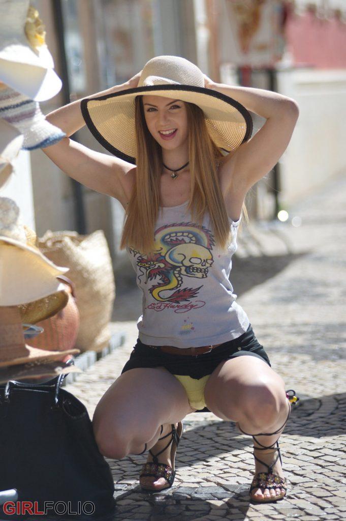 Stella Cox Leaves Her Hat On Girlfolio
