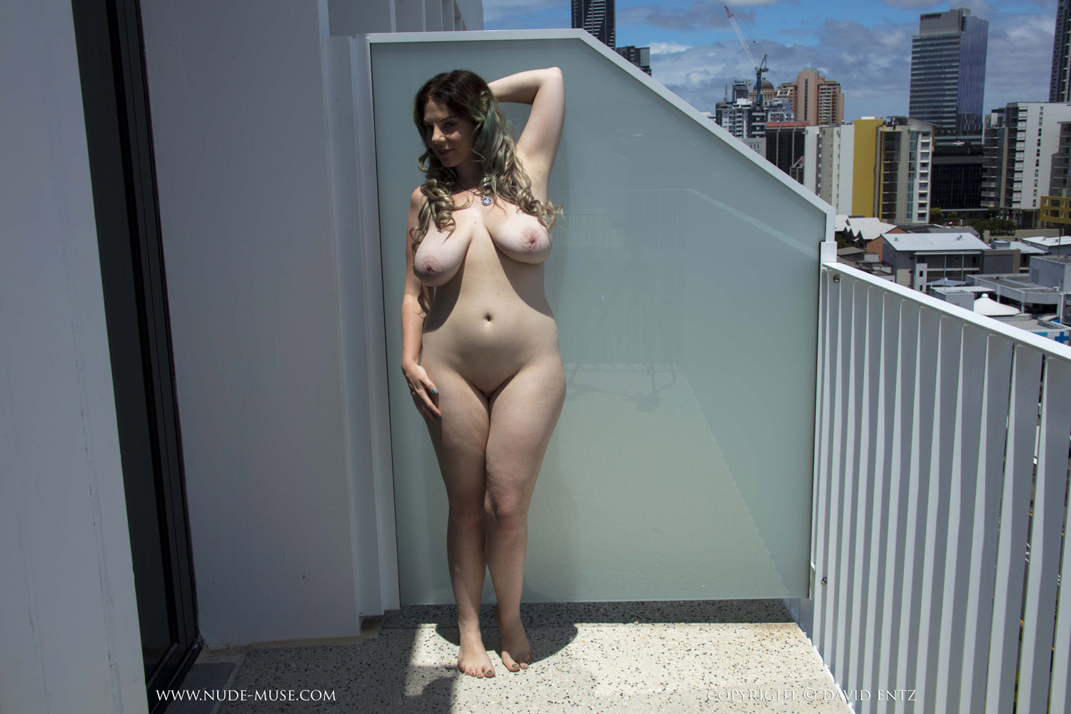 naked redhead girls on balconies