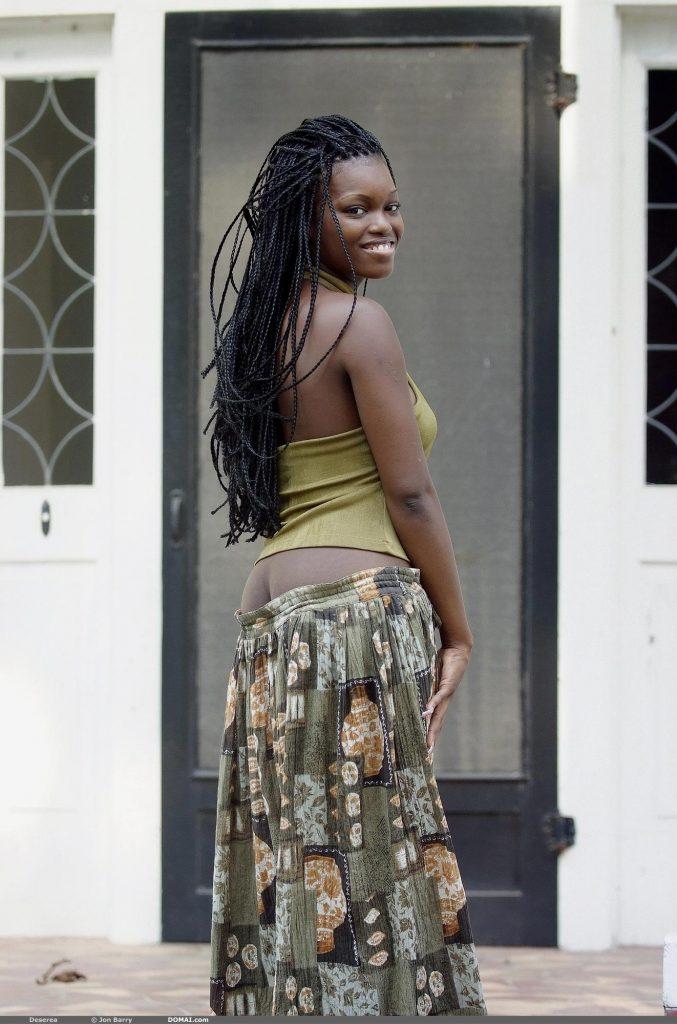 Ebony deserea nude very valuable