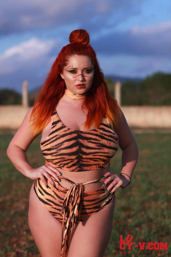 Lucy Vixen Sexy Animal Print