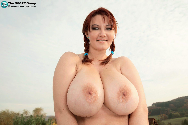 Busty red head mom