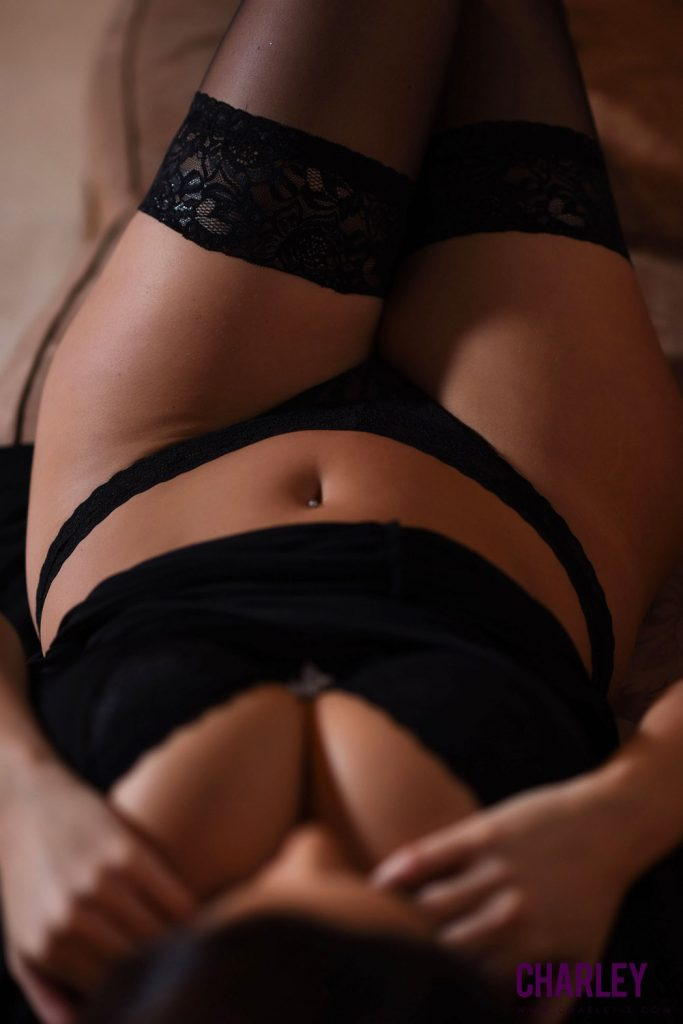 Charley Springer Black Dress Erotica