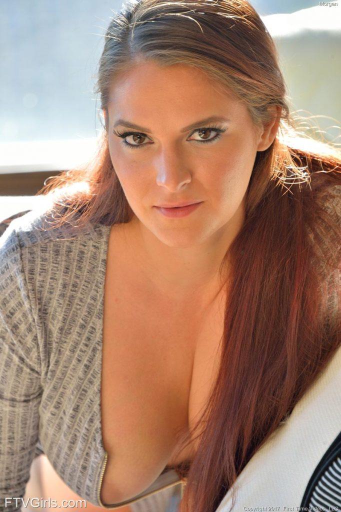 Morgan Voluptuous Redhead for FTV Girls