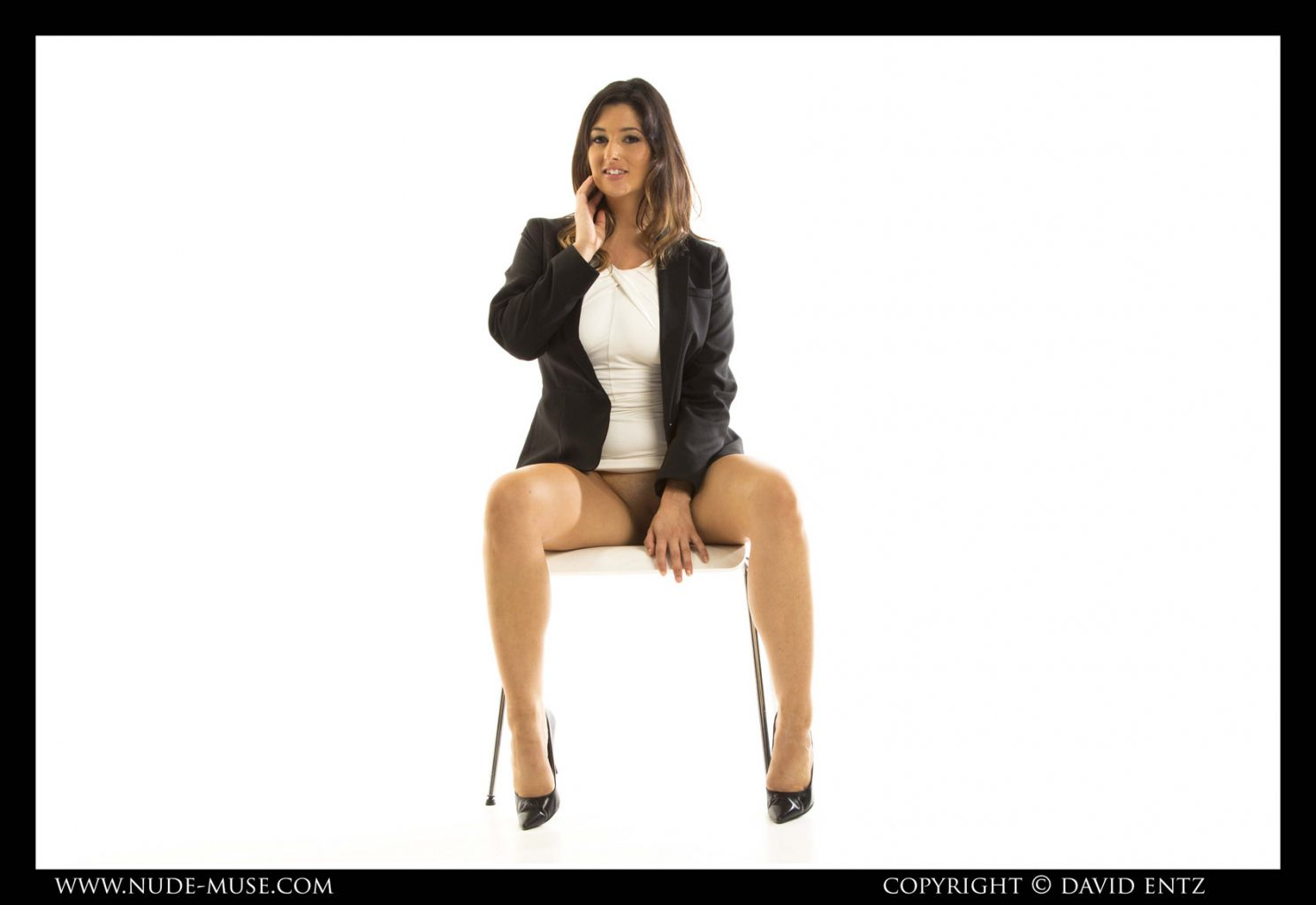 Scarlett Morgan Business Casual for Nude Muse