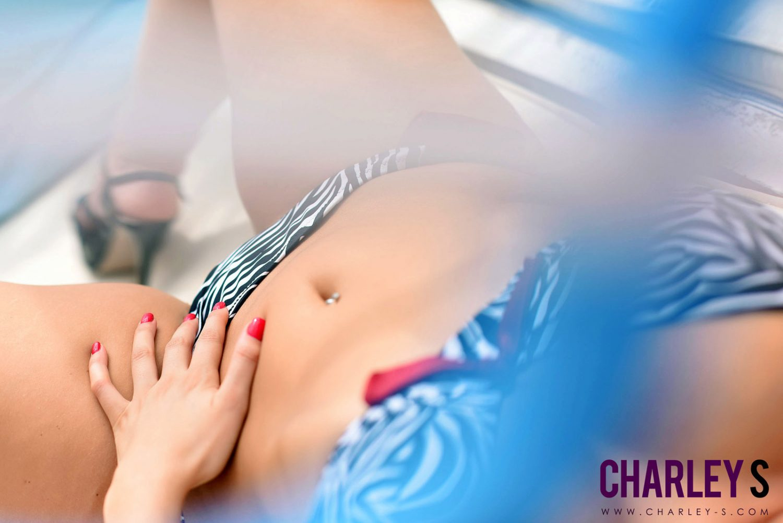 Charley Springer Shooting In Her New Bikini