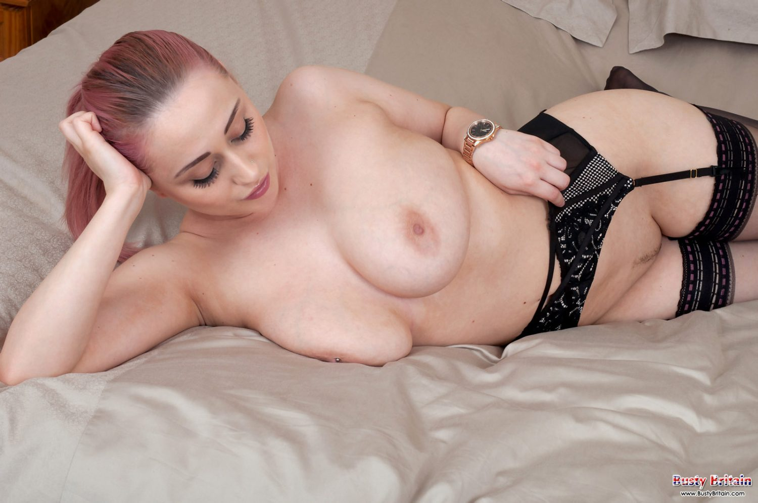 The Block's Suzi Taylor Goes Braless And Reveals Fuller Chest In A Very Sheer Black Top